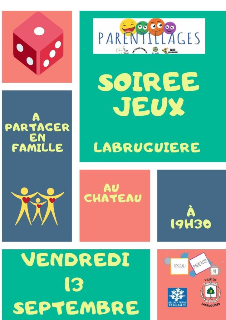 Soiree jeux fly 13 sept